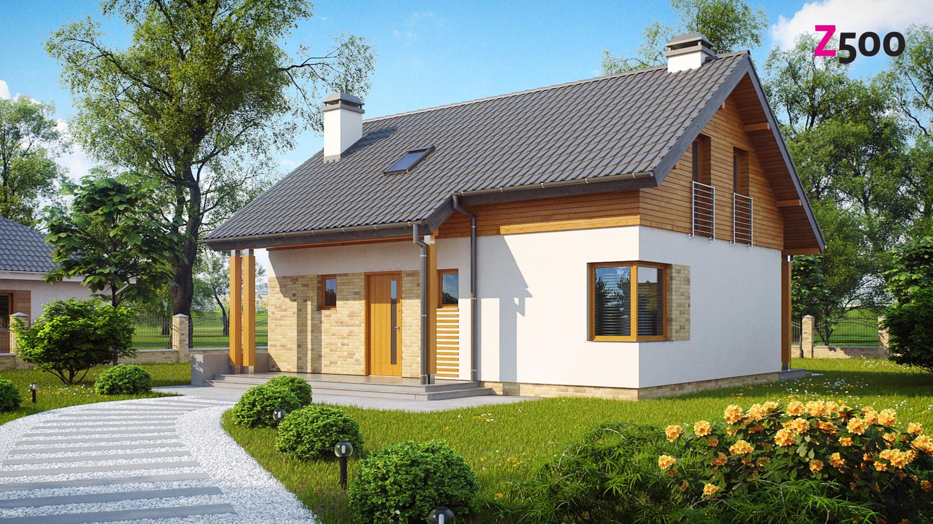 Дизайны 1 этажных домов